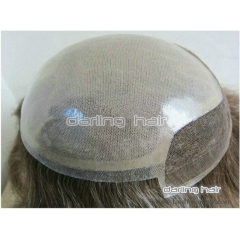 silk top toupee women men