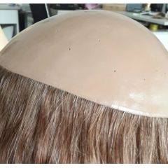 silicon injected toupee hair system