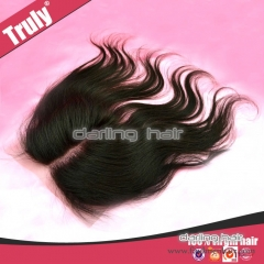 human hair lace front top closure
