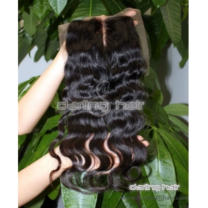 women toupee lace top closure