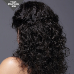 Remy Human Hair Full Lace wig Curly