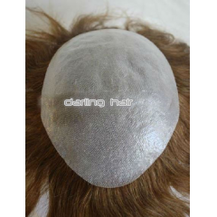 full thin skin PU toupee