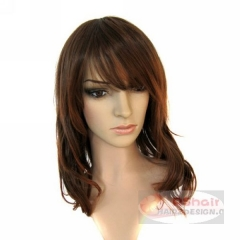 Romatic wave Human Hair Wigs full lace